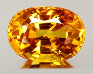 Жёлтый сапфир