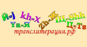 Языковые барьеры и транслитерация