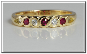 Ювелирные изделия с драгоценными камнями в каталоге